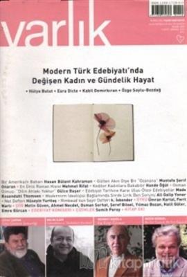 Varlık Aylık Edebiyat ve Kültür Dergisi Sayı: 1219 - Nisan 2009 Kolekt