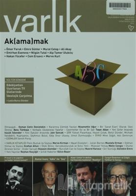 Varlık Aylık Edebiyat ve Kültür Dergisi Sayı: 1275 - Aralık 2013 Ömer