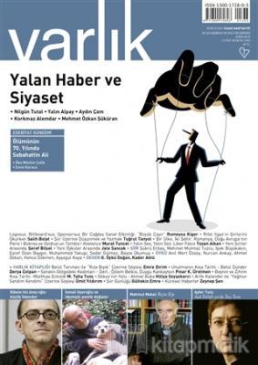 Varlık Aylık Edebiyat ve Kültür Dergisi Sayı: 1333 Ekim 2018 Kolektif