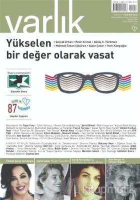 Varlık Edebiyat ve Kültür Dergisi Sayı: 1354 Temmuz 2020 Kolektif