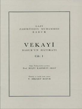 Vekayi Babur'un Hatıratı 1. Cilt