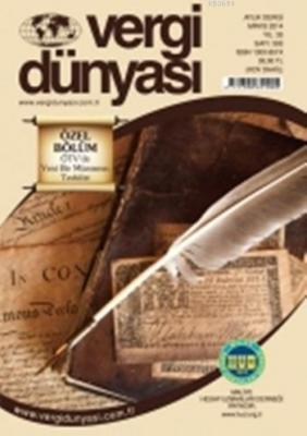 Vergi Dünyası Dergisi Mayıs 2014