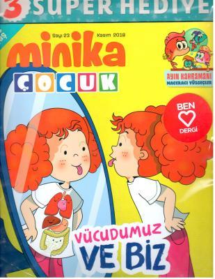 Minika Çocuk Dergisi Sayı:23 Kasım 2018