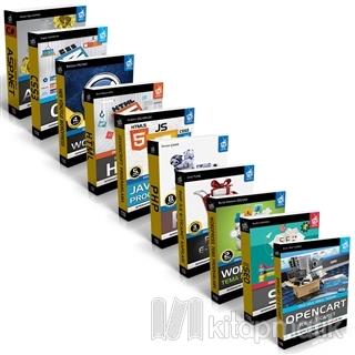 Web Tasarım Seti 3 (10 Kitap Takım)