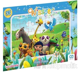 Wissper - Frame Puzzle (Asorti 12'li Paket)