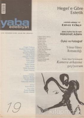 Yaba Edebiyat Dergisi Sayı: 19