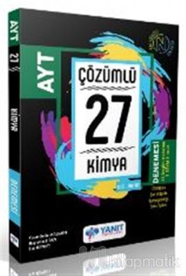 Yanıt AYT Çözümlü 27 Kimya Branş Denemesi Kolektif