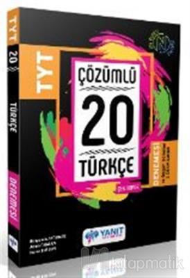 Yanıt TYT Çözümlü 20 Türkçe Branş Denemesi Kolektif