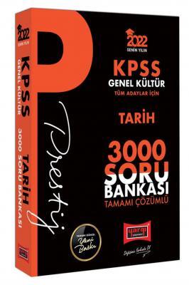 2022 KPSS Genel Kültür Tarih Prestij Seri Tamamı Çözümlü 3000 Soru Ban