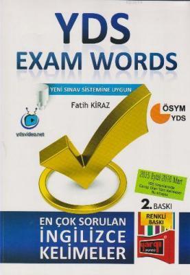 YDS Exam Words En Çok Sorulan İngilizce Kelimeler