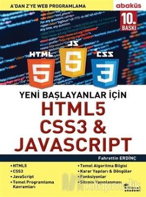Yeni Başlayanlar İçin HTML5, CSS3 ve Javascript Fahrettin Erdinç