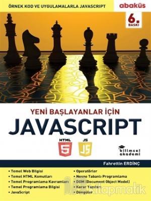 Yeni Başlayanlar İçin Javascript Fahrettin Erdinç