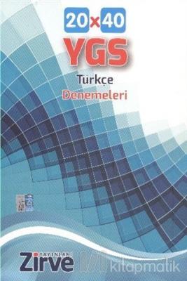 YGS 20x40 Türkçe Denemeleri