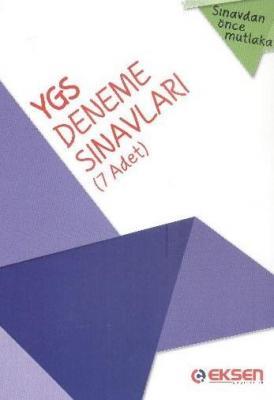 YGS Deneme Sınavları (7 Adet) Cihat Şener