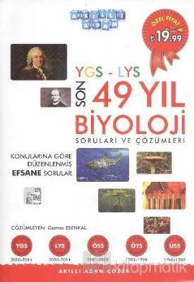 YGS LYS Son 52 Yıl Biyoloji Soruları ve Çözümleri Komisyon