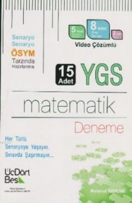 YGS Matematik Video Çözümlü 15 Deneme Mehmet Kıvrak