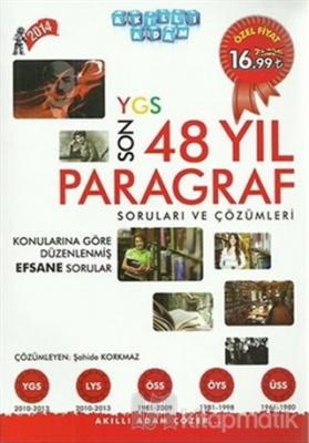 YGS Son 48 Yıl Paragraf Soruları ve Çözümleri