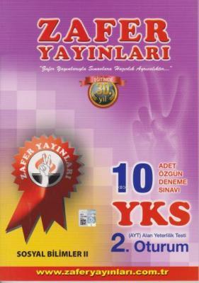 YKS AYT Sosyal Bilimler II - 10 Özgün Deneme Sınavı 2. Oturum