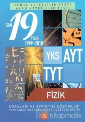 YKS AYT TYT Fizik Son 19 Yılın Soruları ve Ayrıntılı Çözümleri 2000-2018