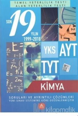YKS AYT TYT Kimya Son 19 Yılın Soruları ve Ayrıntılı Çözümleri 1999-2018