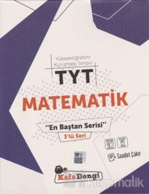 YKS TYT Matematik En Baştan Serisi 3'lü Seri