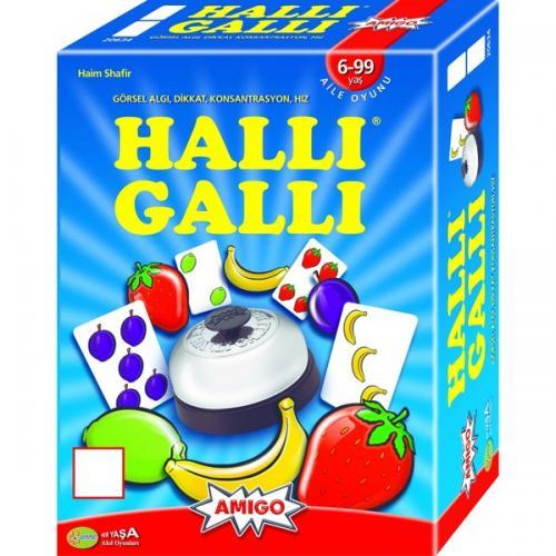 HALLİ GALLİ ZEKA VE KONSANTRASYON OYUNU - - kitapoba.com