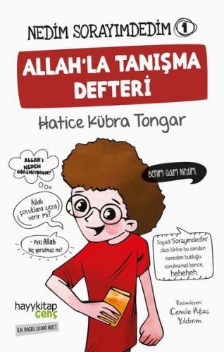 Allah'la Tanışma Defteri - Hatice Kübra Tongar - kitapoba.com