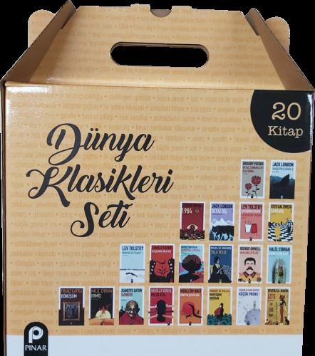 Dünya Klasikleri Kutulu Set (20 Kitap) - - kitapoba.com