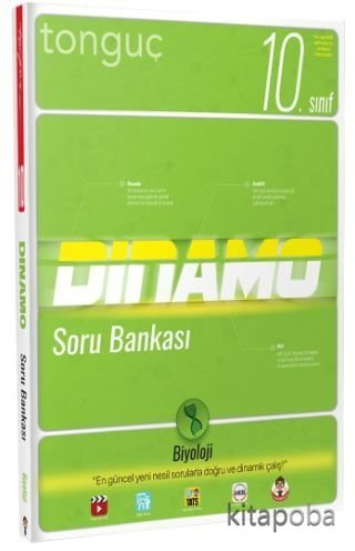 10.Sınıf Biyoloji Dinamo Soru Bankası - Komisyon - kitapoba.com