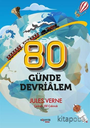 80 Günde Devri Alem - Jules Verne - kitapoba.com