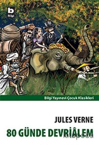 80 Günde Devrialem - Jules Verne - kitapoba.com