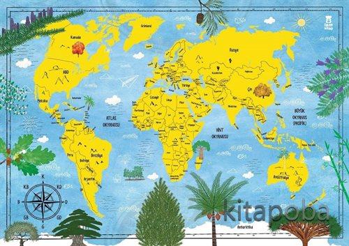 Ağaç Atlası (Harita Hediyeli) - Fatih Dikmen - kitapoba.com