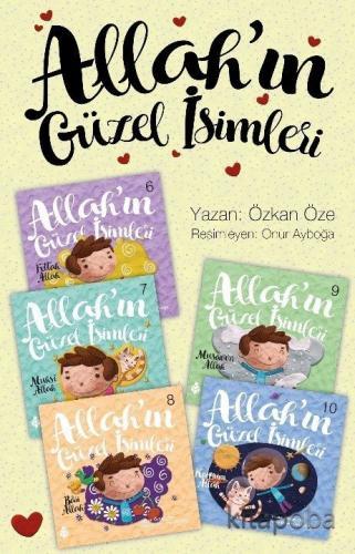 Allah'ın Güzel İsimleri 2. Set (5 Kitap) - Özkan Öze - kitapoba.com