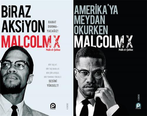 Malcolm X - 2 Kitap Set - Malcolm X - kitapoba.com