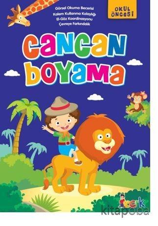 Cancan Boyama - Komisyon - kitapoba.com