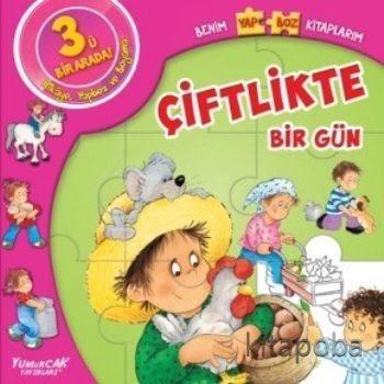 Çiftlikte Bir Gün / Benim Yapboz Kitaplarım - Kollektif - kitapoba.com