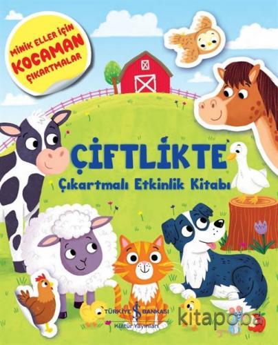 Çiftlikte Çıkartmalı Etkinlik Kitabı - Kolektif - kitapoba.com