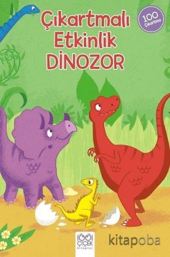 Çıkartmalı Etkinlik Dinozor - David Hitch - kitapoba.com