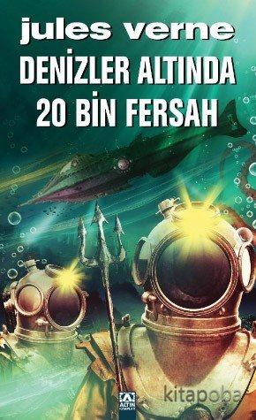 Denizler Altında 20 Bin Fersah - Jules Verne - kitapoba.com