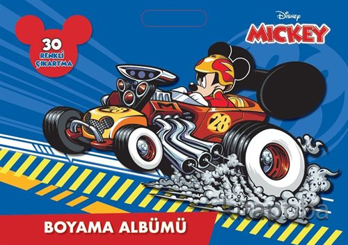 Disney Mıckey Boyama Albümü - - kitapoba.com