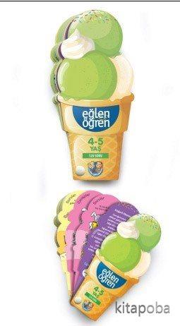 Eğlen Öğren Ice Cream 4-5 yaş - - kitapoba.com