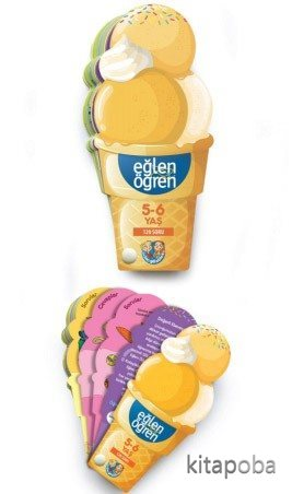 Eğlen Öğren Ice Cream 5-6 yaş - - kitapoba.com