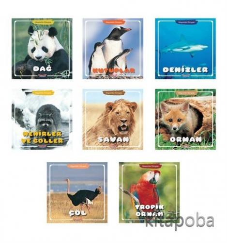 Hayvanlar Dünyası Serisi (8 Kitap) - Kollektif - kitapoba.com