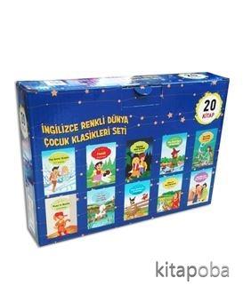 İngilizce Renkli Dünya Çocuk Klasikleri Seti (20 Kitap) - Kollektif -