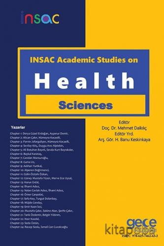 Insac Academic Studies on Health Sciences - Kollektif - kitapoba.com