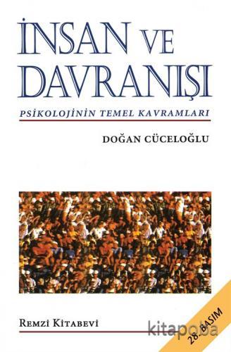 İnsan ve Davranışı - Doğan Cüceloğlu - kitapoba.com