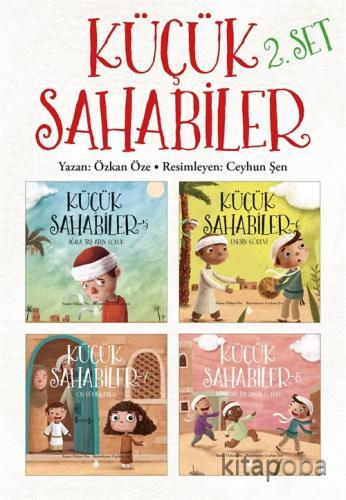 Küçük Sahabiler Seti 2 (4 kitap) - Özkan Öze - kitapoba.com