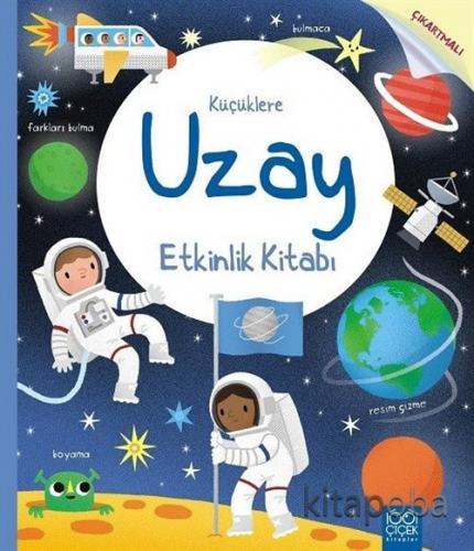 Küçüklere Uzay Etkinlik Kitabı - Rebecca Gilpin - kitapoba.com
