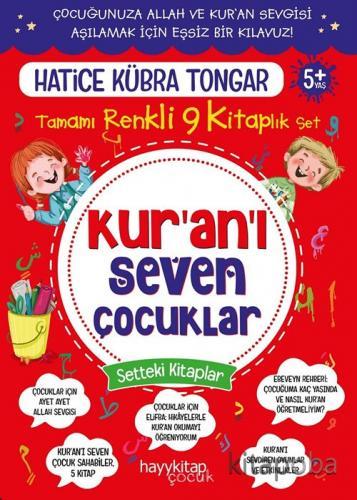 Kur'an'ı Seven Çocuklar 9'lu Set - Hatice Kübra Tongar - kitapoba.com