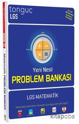 LGS Matematik Yeni Nesil Problem Bankası - Kollektif - kitapoba.com